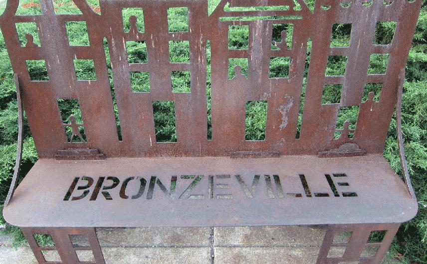 bronzeville-bench